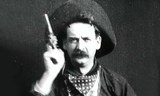 """""""The Great Train Robbery"""", con Broncho Billy Anderson (1903)"""