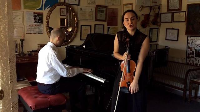 Dúo Metha: violín y piano