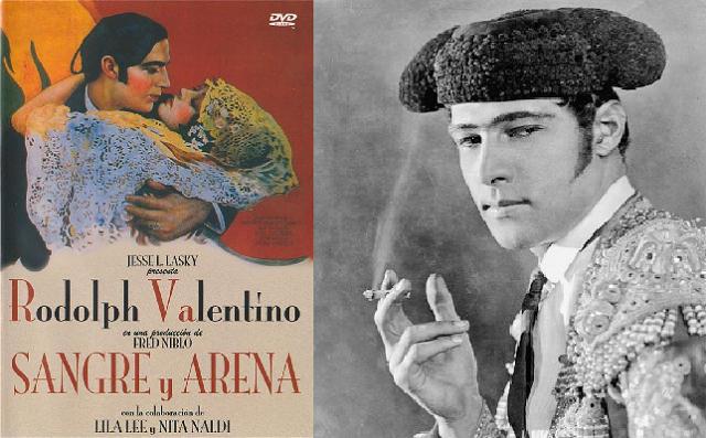 """""""Sangre y arena"""", de Fred Niblo y Jesse Lansky (1922)"""
