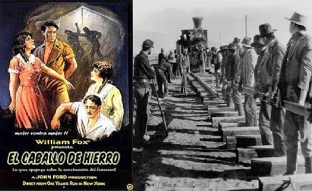 """""""El caballo de hierro"""", de John Ford y producida por William Fox (1924)"""