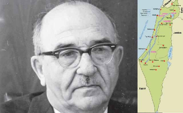 Levi Eshkol, el Primer Ministro que solucionó el problema del agua