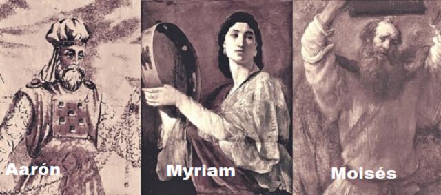 Moisés y sus hermanos