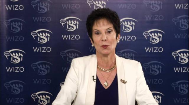 Rivka Lazovsky, Presidenta de WIZO Mundial, de visita en Madrid
