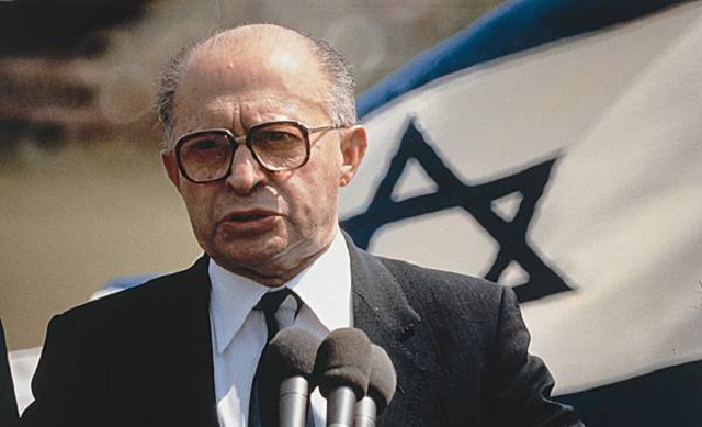 Menahem Begin, Primer Ministro después de 30 años en la oposición