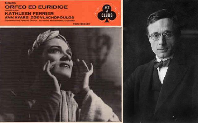 """""""Orfeo y Eurídice"""" de Gluck, dirigido por Stiedry"""