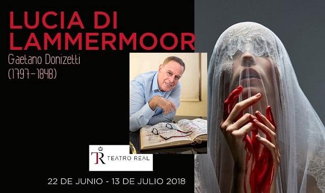 Con el maestro Daniel Oren, en el Teatro Real de Madrid
