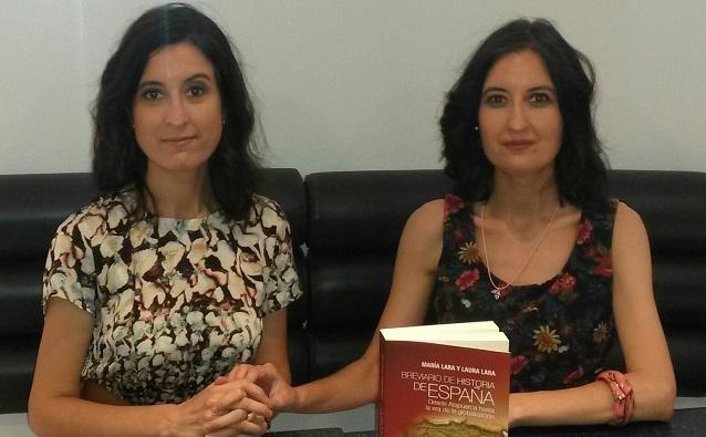 """""""Breviario de historia de España"""", con sus autoras Laura y María Lara Martínez"""