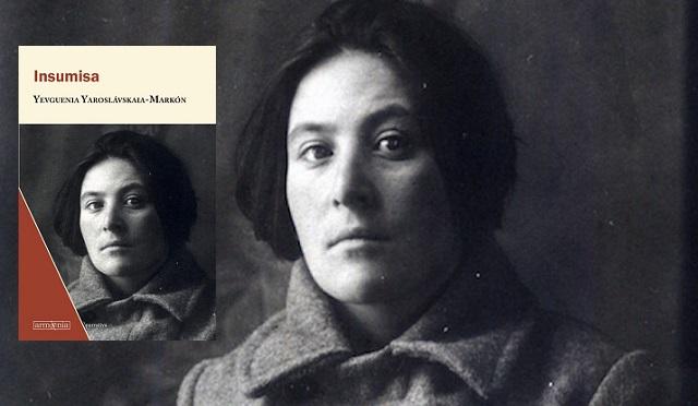"""""""Insumisa"""", de Yevguenia Yaroslávskaia-Markón, con Ricardo López"""