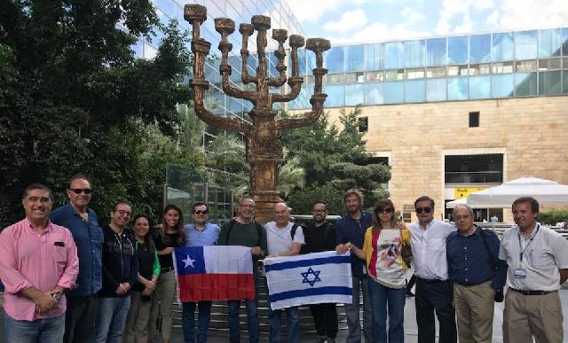 Chile en Israel e Israel en Chile, con Shai Agosin