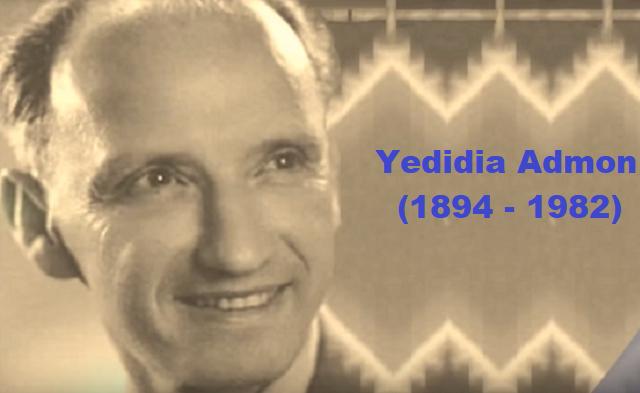 Yedidia Admon: cantando las fiestas de Israel