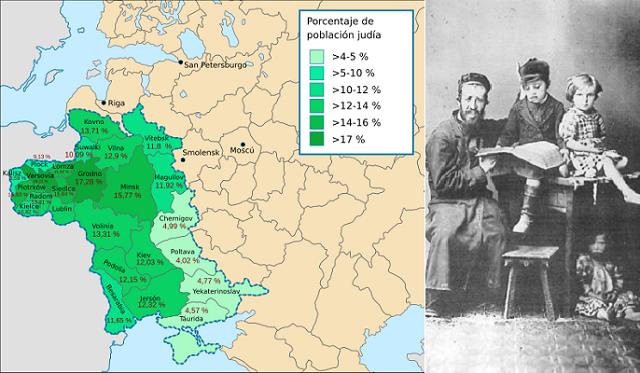 Judíos en el Imperio Zarista (3ª parte): la Zona de Asentamiento