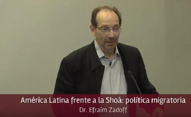 América Latina frente a la Shoá: política migratoria, con Efraím Zadoff (Universidad ORT, Montevideo, 15/3/2018)