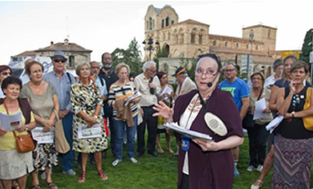 El pasado judío de Ávila, con Irit Green y Pancracio Celdrán (Ávila, 20/9/2018)