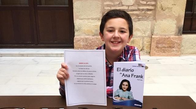Javier Pérez Tubio, el ganador del concurso de microrrelatos Ana Frank | Radio Sefarad