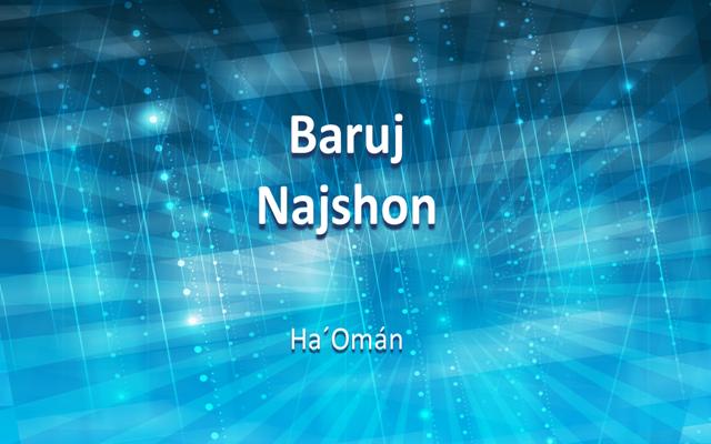 Baruj Najshon: la luz de los salmos