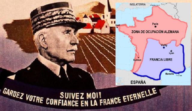 La ideología del régimen de Vichy