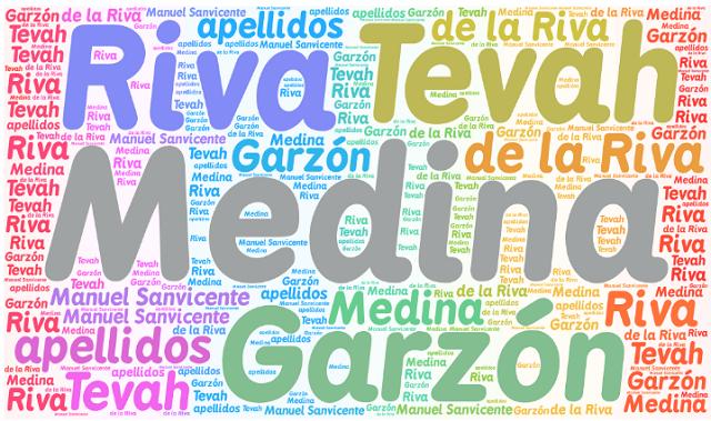 El origen de los apellidos Medina, Tevah, Riva, de la Riva y Garzón