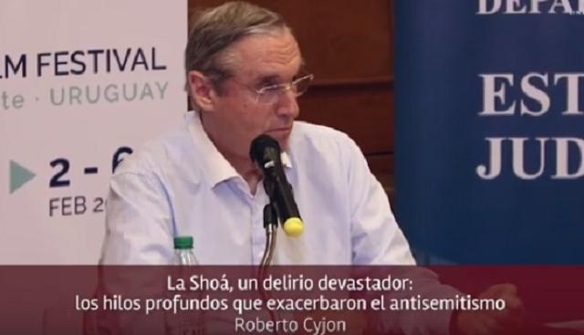 La Shoá: un delirio devastador, con Roberto Cyjon (Punta del Este, Uruguay, 5/2/2019)