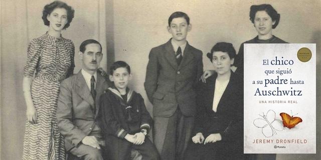 """""""El chico que siguió a su padre hasta Auschwitz"""" con su autor Jeremy Dronfield"""