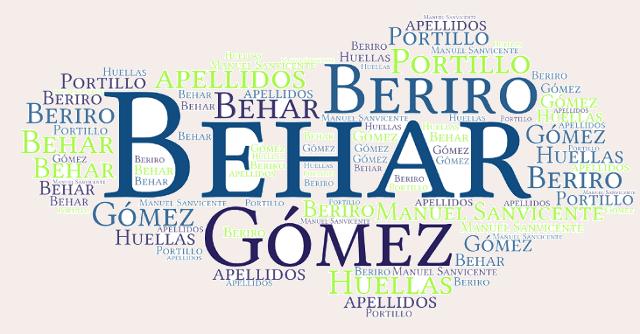 El origen de los apellidos Beriro, Gómez, Portillo y Behar