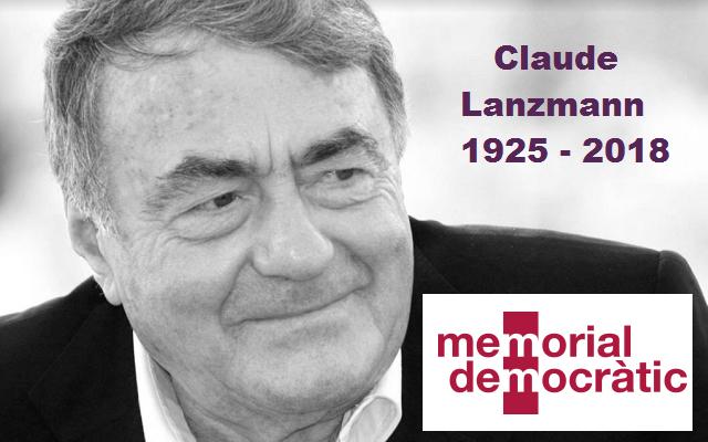 Educando con Claude Lanzmann en Barcelona y Gerona, con Jordi Font