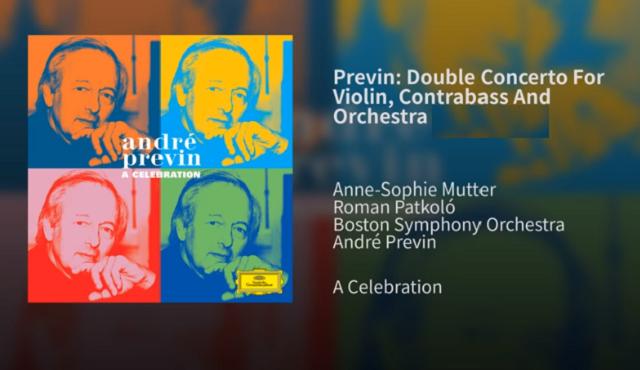 El Doble concierto para violín y contrabajo de André Previn