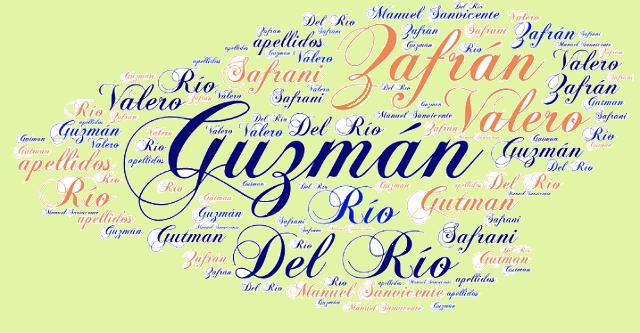 El origen de los apellidos Guzmán o Gutman, Zafrán o Safrani, Del Río o Ríos y Valero