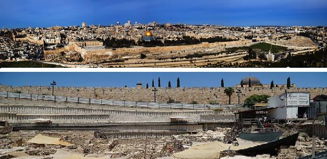 Jerusalén: la ciudad que crece hacia abajo