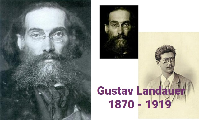 Gustav Landauer: lenguaje, judaísmo y anarquía, con Libera Pisano (online 12/7/2020)