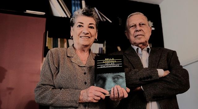 """""""Velas encendidas"""" de Bella Chagall, con Rhoda Henelde y Jacob Abecasís"""