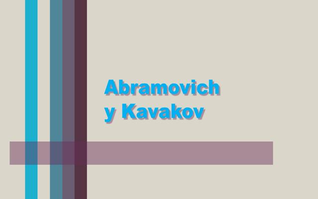 Abramovich y Kabakov
