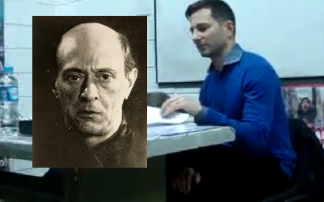 "Etapas del ""camino bíblico"" de Arnold Schoenberg, con Rodolfo Biscia (UBA, Bs. As., 4/7/2018)"