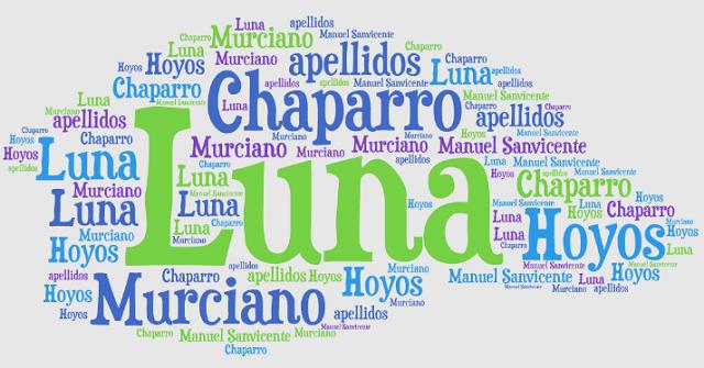 El origen de los apellidos Luna, Chaparro, Hoyos y Murciano