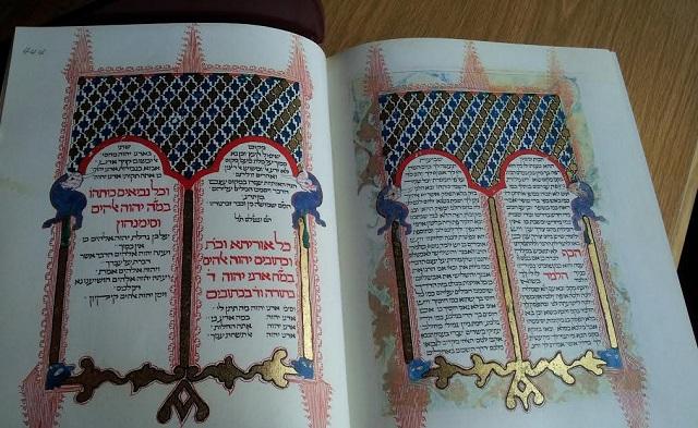 La Biblia Kennicott regresa a Sefarad