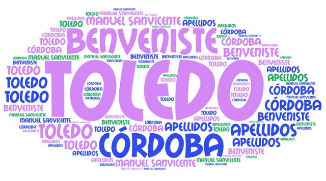 El origen de los apellidos Toledo, Córdoba y Benveniste
