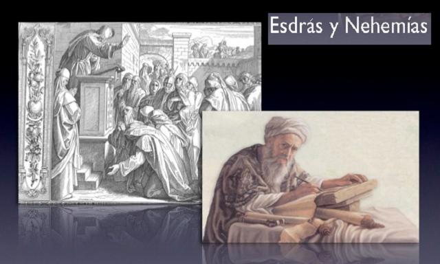 ¿Quiénes fueron Esdrás y Nehemías?