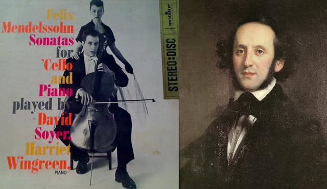 David Soyer y las sonatas de Mendelssohn, junto a Harriet Wingreen