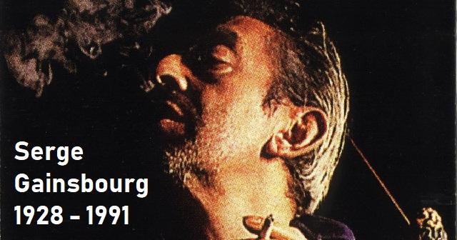 A 30 años de la muerte de Serge Gainsbourg Z'L