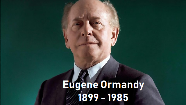 120 años de Eugene Ormandy, con la suite sinfónica Scheherezade de Rimsky-Kórsakov