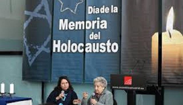 Acto de recuerdo del Holocausto (Asamblea de Madrid, 23/1/2020)
