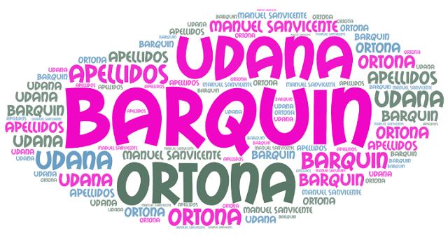 El origen de los apellidos Barquín, Udana y Ortona