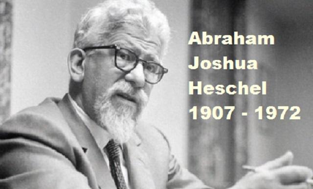 Abraham Joshua Heschel, aún desconocido por muchos