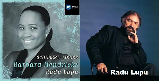 Lieder de Schubert por Radu Lupu y Barbara Hendricks