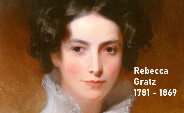 Rebecca Gratz, filántropa con alma de poetisa