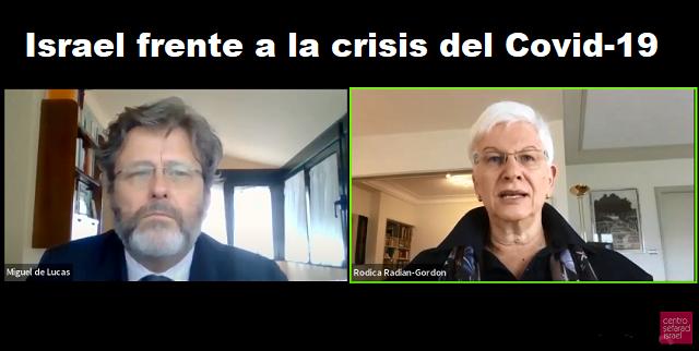 Israel frente a la crisis del Covid-19, con Rodica Radian-Gordon (online, 12/5/2020)