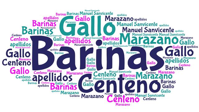 El origen de los apellidos Barinas, Centeno, Gallo y Marazano