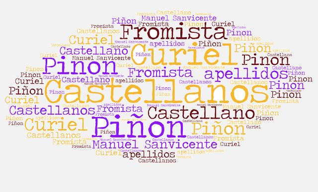 El origen de los apellidos Castellanos, Pinon (Piñón), Fromista y Curiel