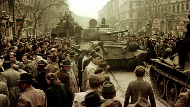 La revolución húngara de 1956