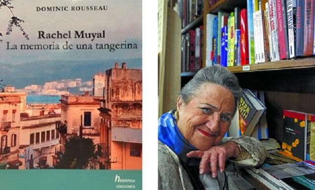"""""""Rachel Muyal. La memoria de una tangerina"""", con su editor Jacobo Israel"""