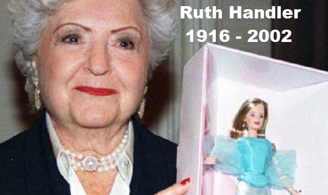 Ruth Handler, la creadora de la muñeca Barbie